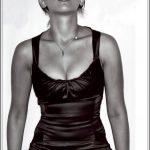 Scarlett Johansson Nude Black and White Pics